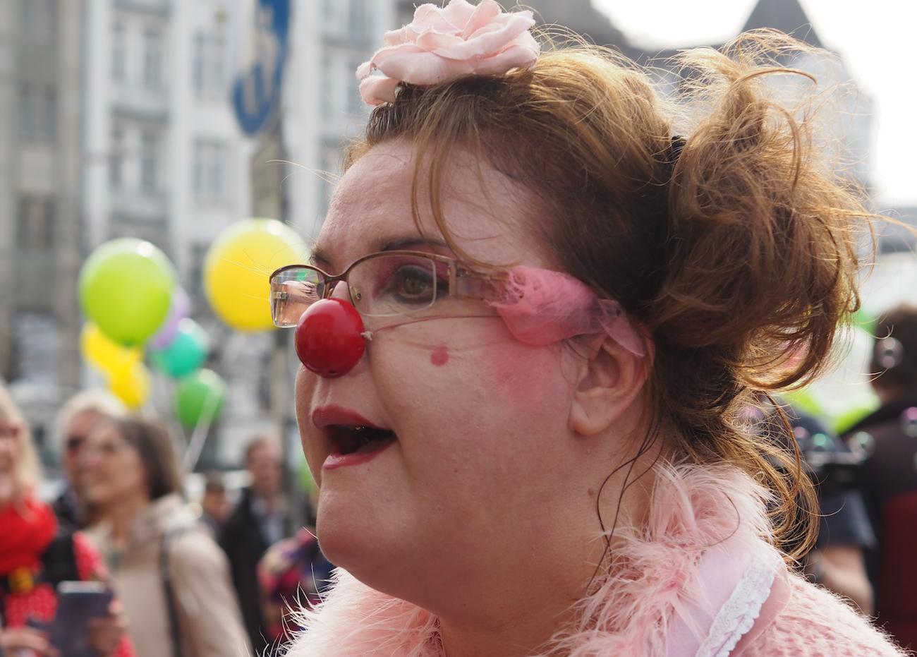 Clownin Rosalore war auch dabei