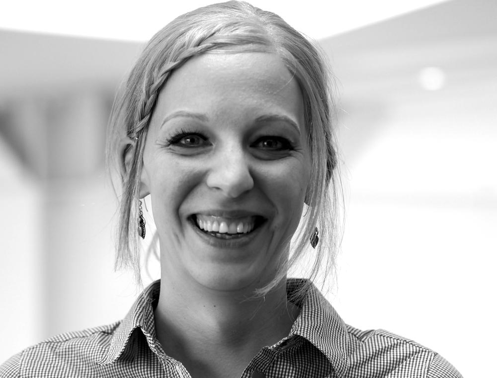 Sarah Weller: Gerontologin, Projektkoordinatorin der Klinik für Psychiatrie und Psychotherapie für Ältere, Klinikum Stuttgart