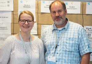 Care Camp Köln: Gründer Dirk Steinmetz und Dr. Kathrin Reinert vom Orga-Team