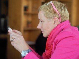 Elisabeth Scharfenberg beim Activcamp Pflege