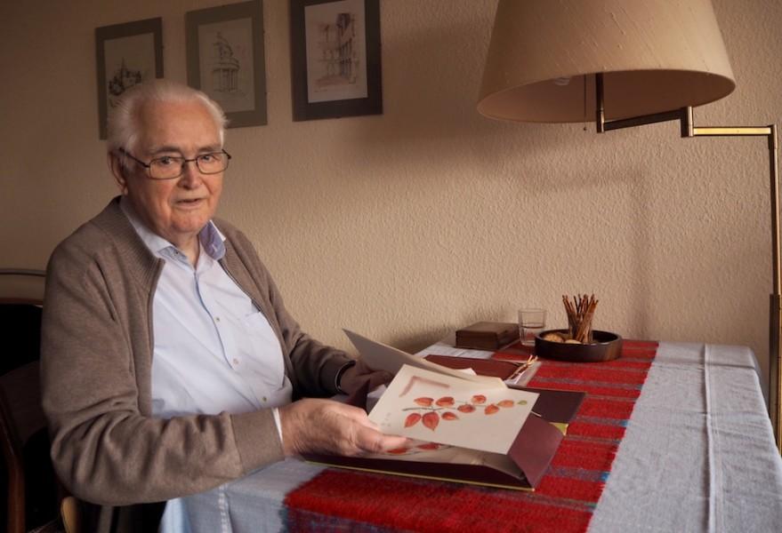 Architekt im Pflegeheim – kreativ bis ins hohe Alter