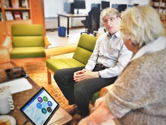 Senioren Tablet Cafe PAUL Albertinen Haus