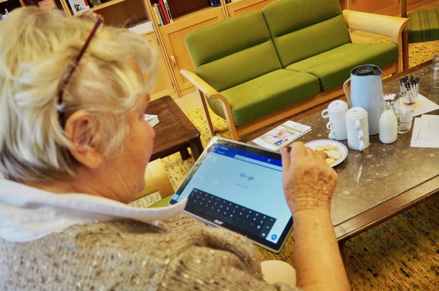 Senioren-Tablet Blog kati cares