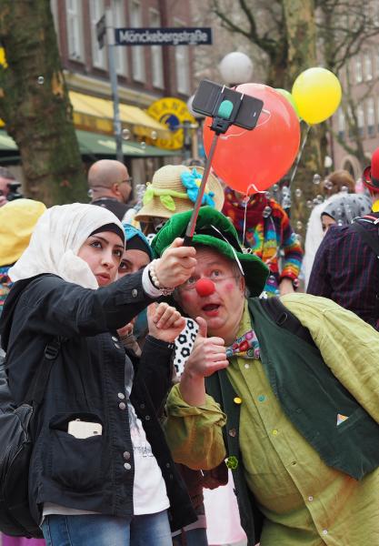 Konfetti-Parade Hamburg Demenz
