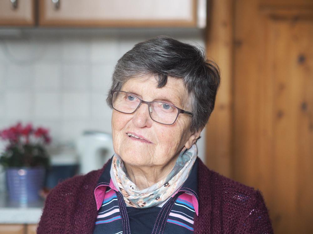 Meine Tante – ihr Alter von 84 sieht man ihr nicht an