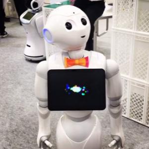 Innovationen fuer die Altenpflege – der Roboter Pepper