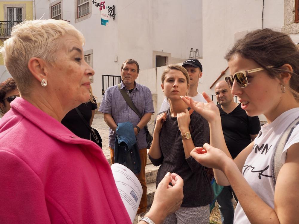 Senioren in Lissabon – Stadtführerin Lissabon