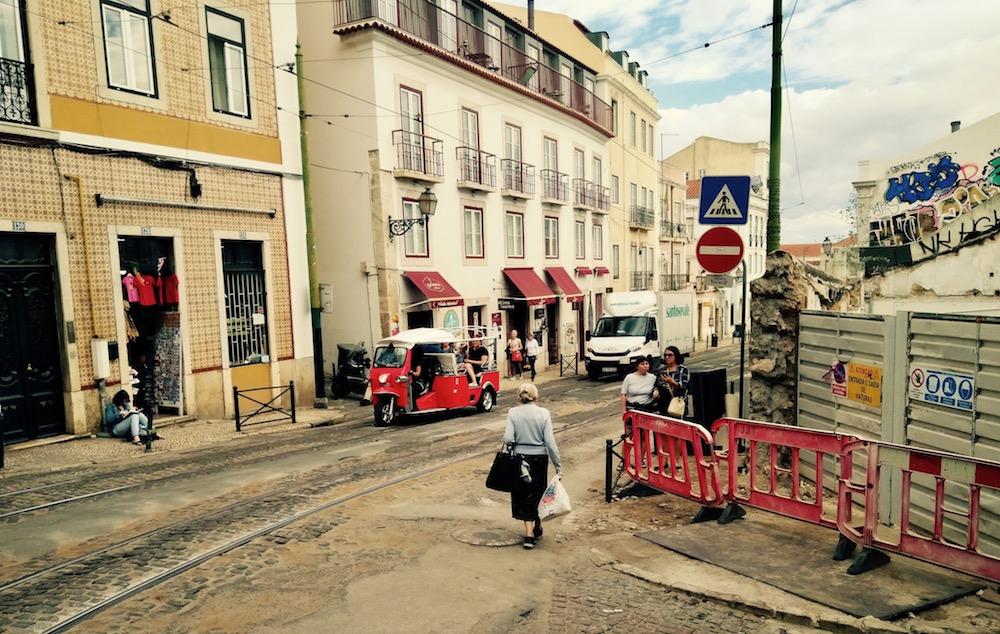 Senioren in Lissabon – Alfama